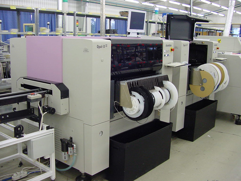 PCB assembly machine, Philips